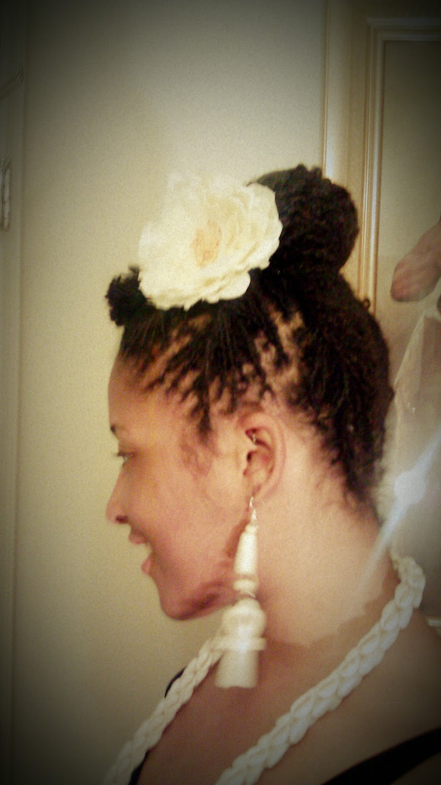 Twisted Bun Updo Hairstyle Tutorial Curlynugrowth