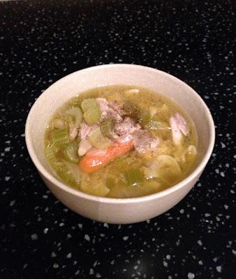 easy, chicken noodle soup, recipe, food, sick, Wynzie Chai