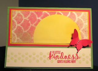 spritzed a little kindness Zena Kennedy Stampin Up independent demonstrator
