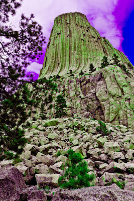 Mato Tipila or Devils Tower by Dakota Visions Photography LLC Black Hills www.dakotavisions.com