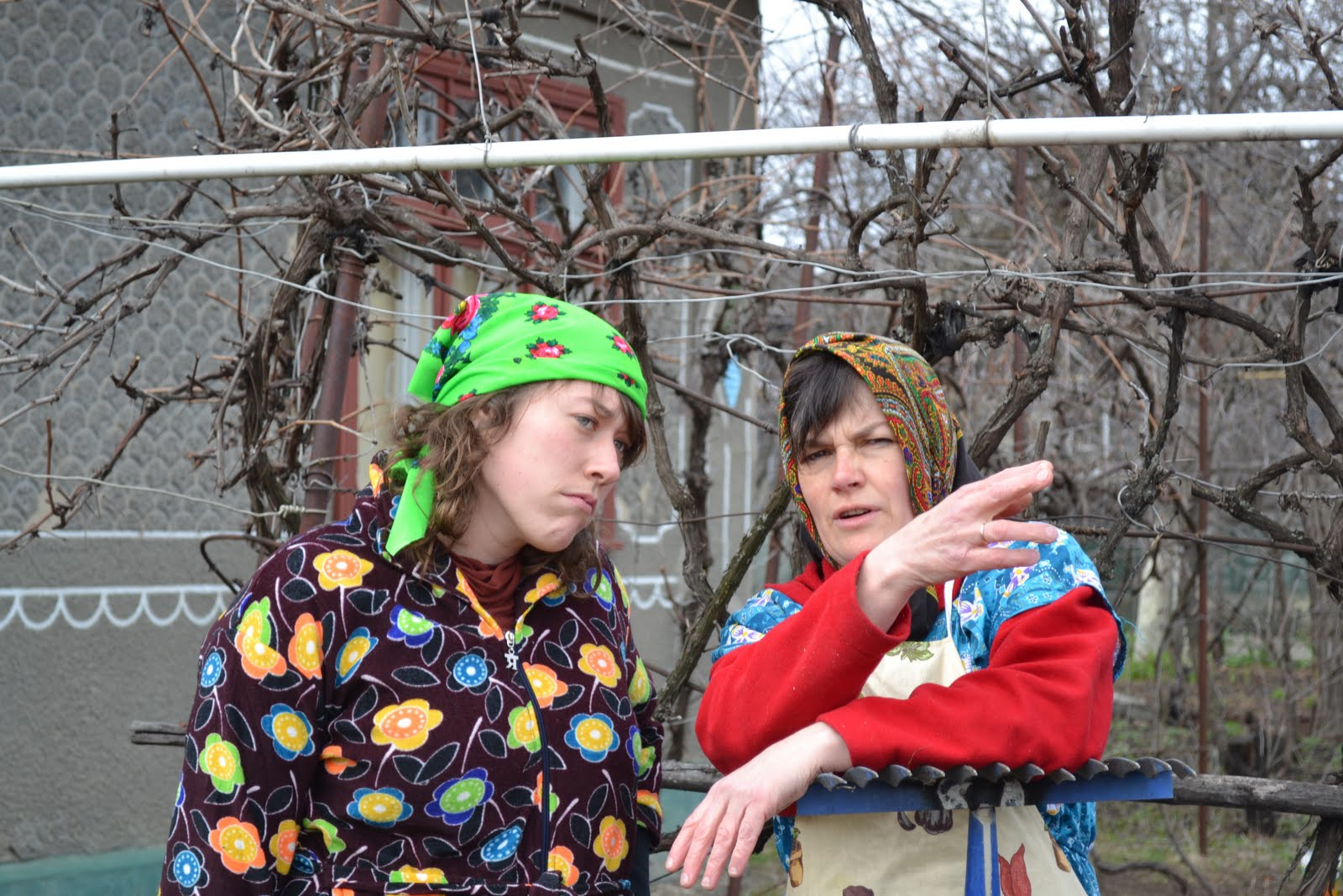 submitting to the culture    Ukrainian Everyday Clothing