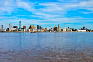 View of Liverpool Seafront
