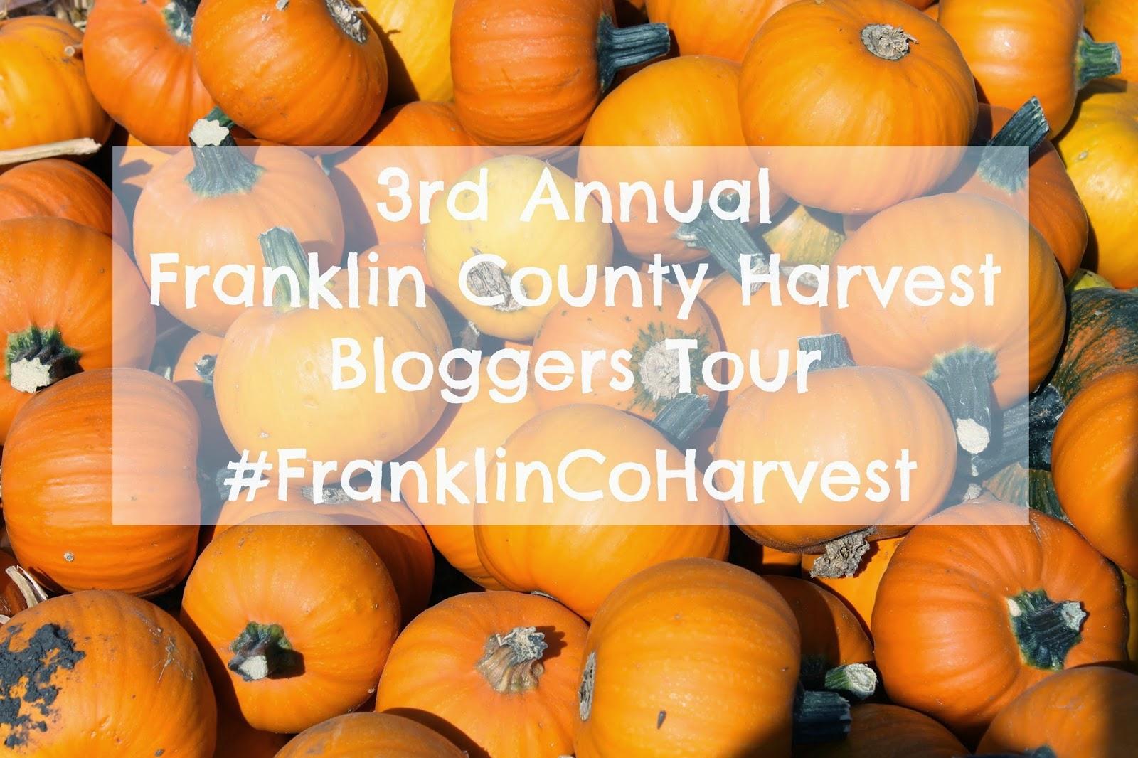 3rd Annual Franklin County Harvest Bloggers Tour #FranklinCoHarvest