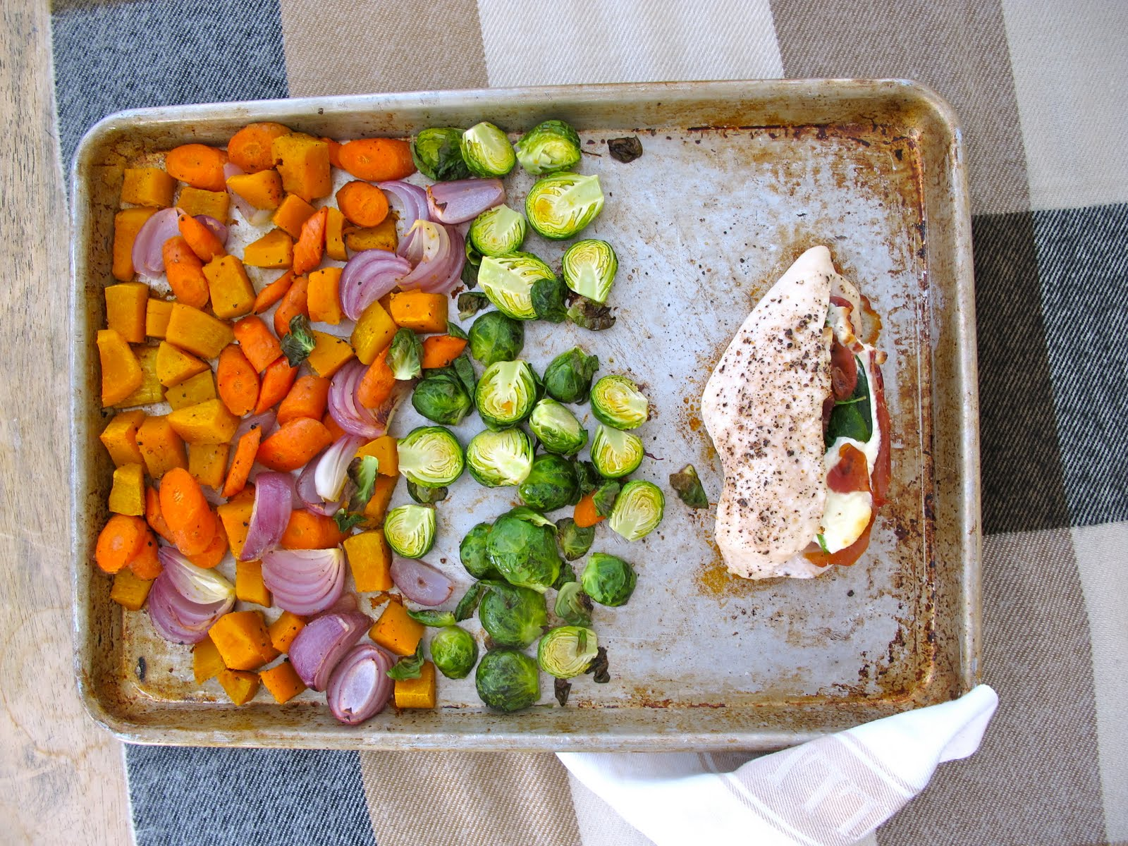 ... Chicken with Roasted Fall Vegetables | Fall Entertaining Recipes