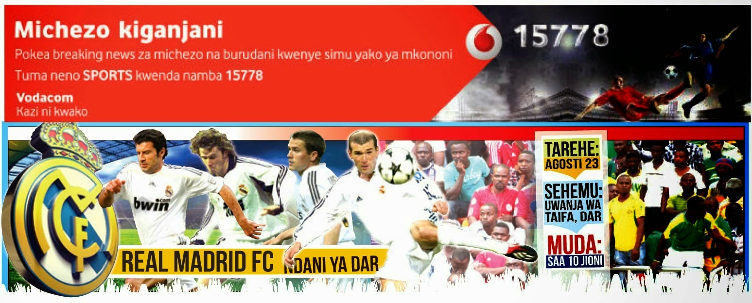 TANZANIA VS REAL MADRID