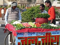 Veg sellers in Jaipur