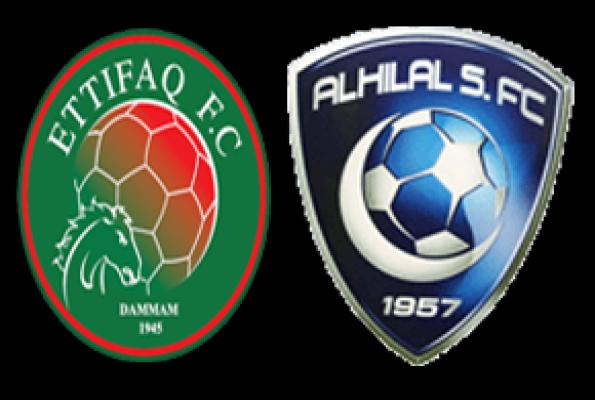 مباراة الهلال والاتفاق اليوم السبت 28/12/2013 ضمن دوري عبد اللطيف جميل