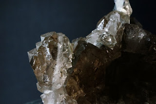 quartz fumé, cristal du Mont-Blanc, photo: philippe Dufrêne©Crystalmontblanc
