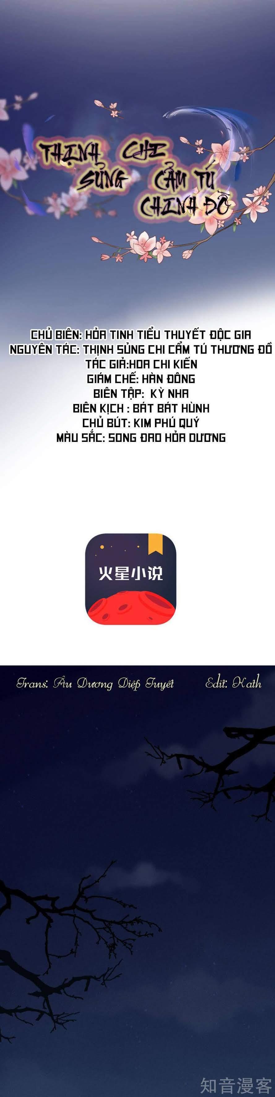Thịnh Sủng Chi Cẩm Tú Chinh Đồ – Chap 1