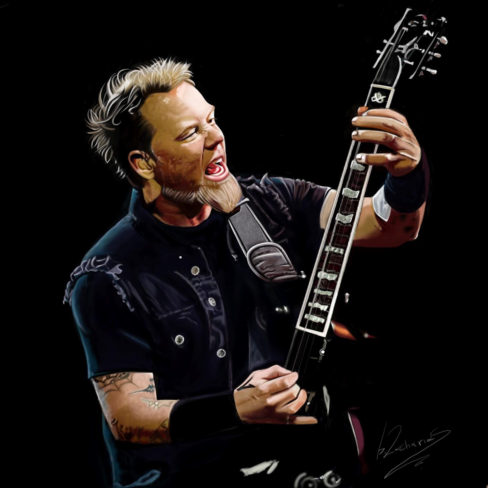 Biography CollectionMain menuJames Hetfield, Metallica Vocalist