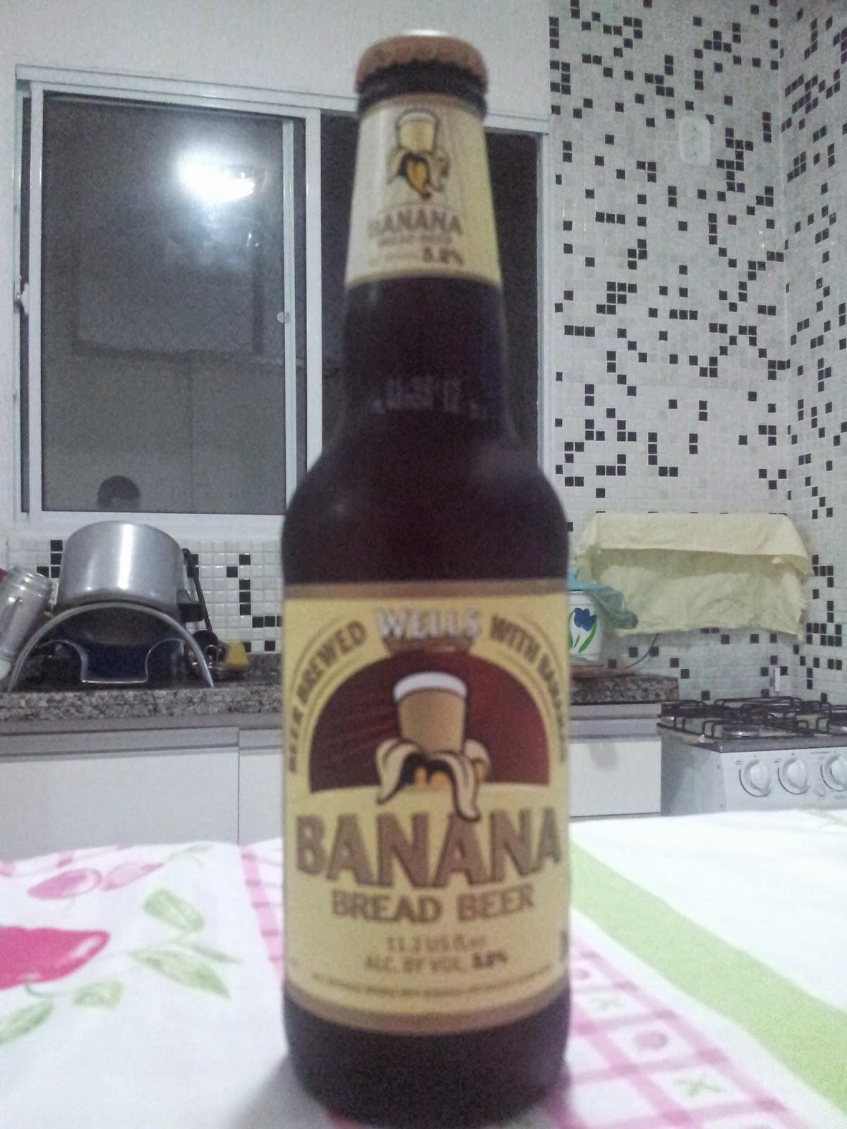 cerveja frutada de banana