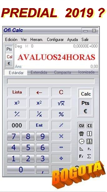 CALCULE IMPUESTOS  2019.........