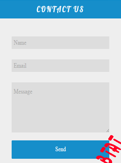 add floating contact us  widget