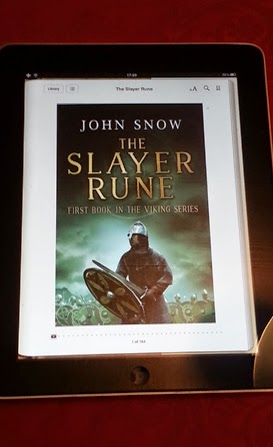 John Snow on Apple iBooks with his book The Slayer Rune