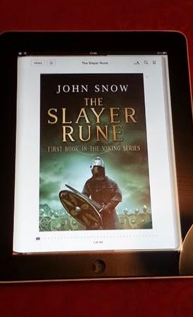 John Snow on Apple iBooks with his book The Slayer Rune
