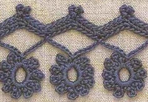 вязание крючком, узоры,