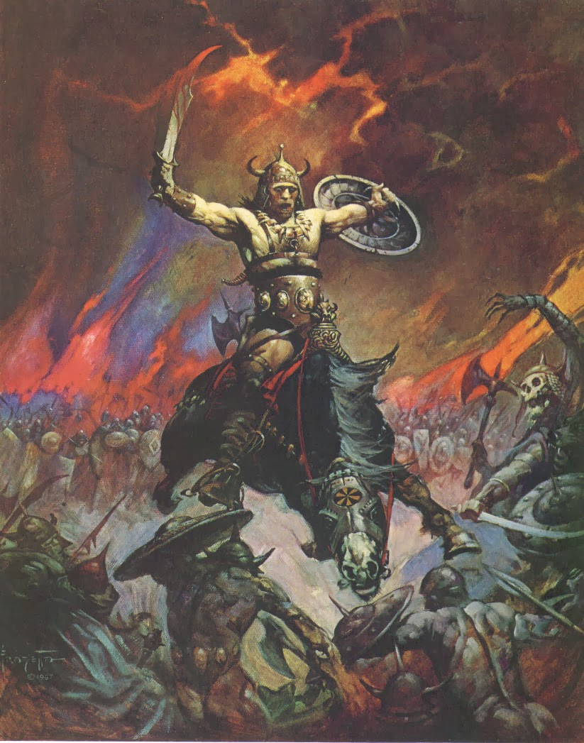 Conan the Conqueror (Frank Frazetta)