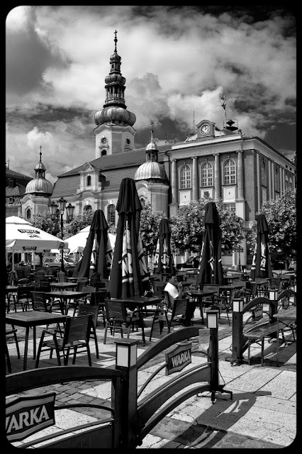 Fotografia krajobrazowa Łukasza Cyrus. Rynek w Pszczynie.