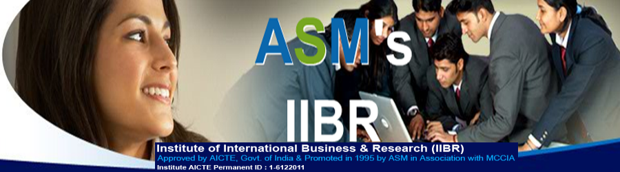 IIBR, Pune - An ASM Group of Institute