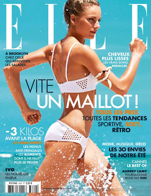 Fashion Model @ Ieva Laguna - Elle France, May 2015