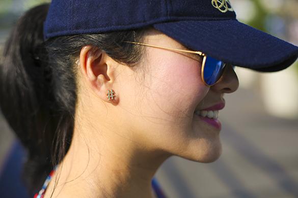 J.Crew monogrammed baseball cap