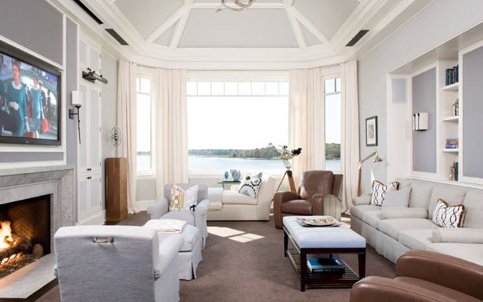 The Living Room Is Divine With Its Windows Opening Up To A Nice View Artworks Are Soothing And I Just Adore Wall Color So Very Relaxing Enjoy