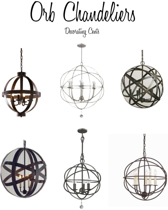 Decorating cents orb chandeliers for 2 story foyer chandelier