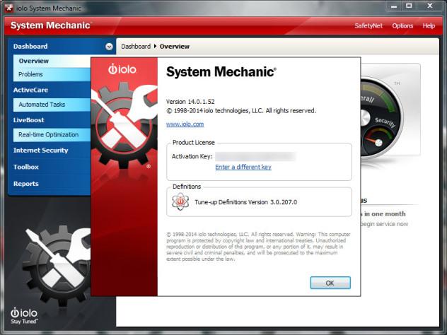 system mechanic 14.6 activation key