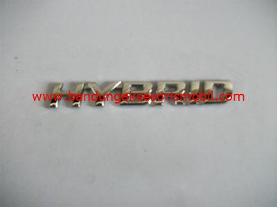 Emblem Car Logo Hybrid