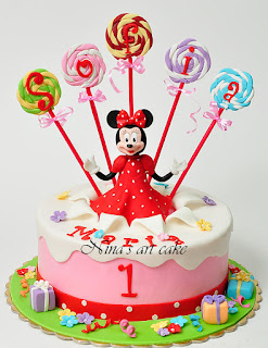 "Tort ""Minnie Mouse"""