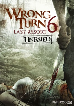 Wrong Turn 6:Last Resort 2014 poster