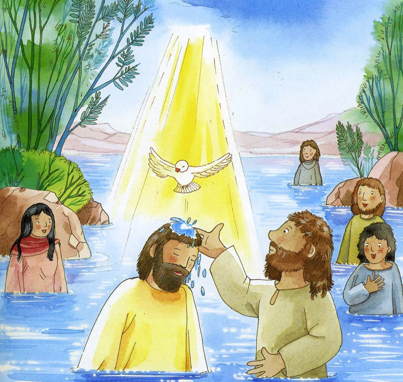 John The Baptist And Jesus For Kids Other Food: daily devo...