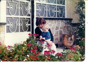 Debbie & John July 1987