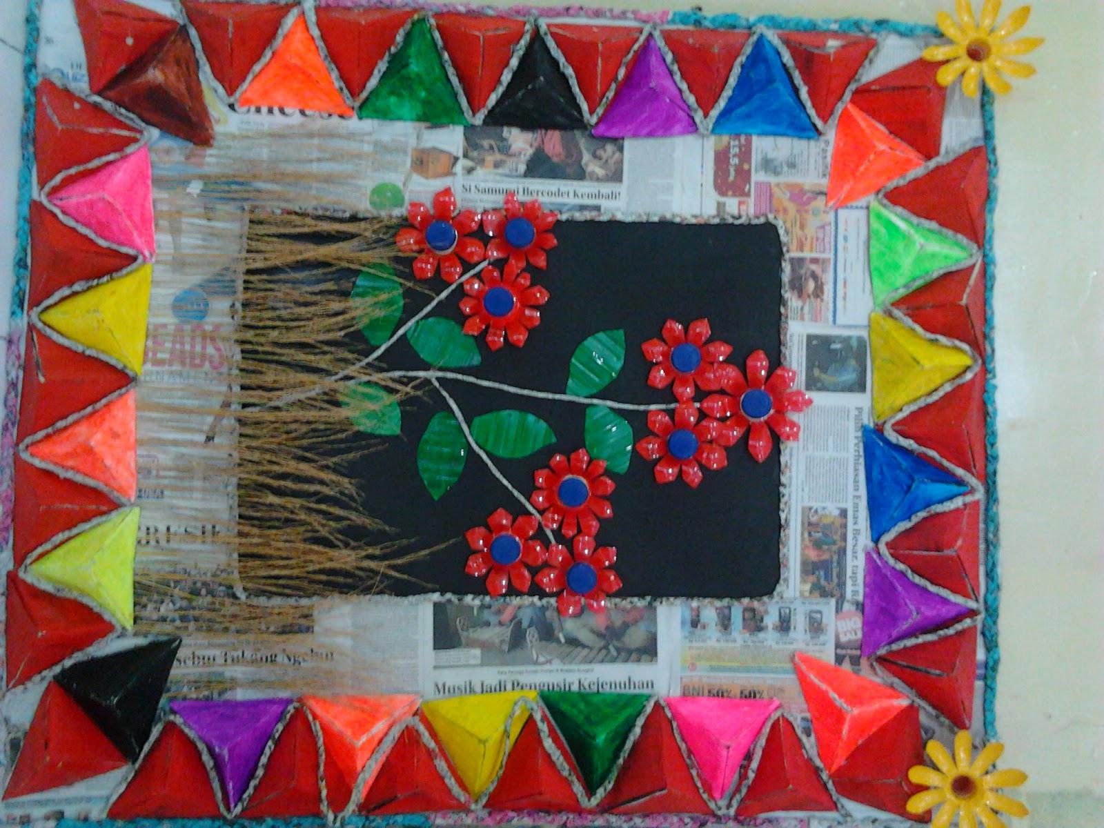 Sd darul ilmi full day school surabaya di bawah ini akan ada foto foto hasil karya daur ulang yang dilakukan oleh guru dan siswa 1 hiasan dinding thecheapjerseys Image collections