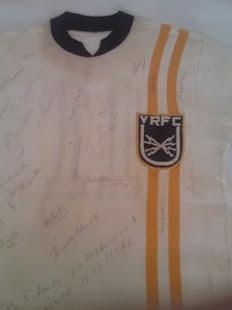 Estréia da nova camisa do Voltaço, 1976