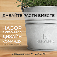 Набор в сезонную команду Зима 2018-2019! Мемуарис.