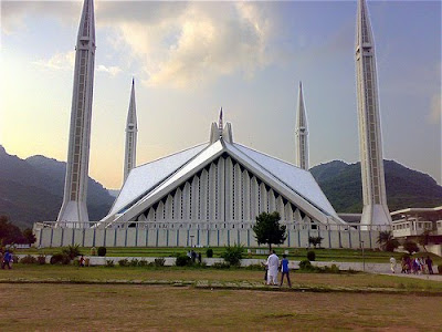 Faisal Mosque Islamabad Wallpapers