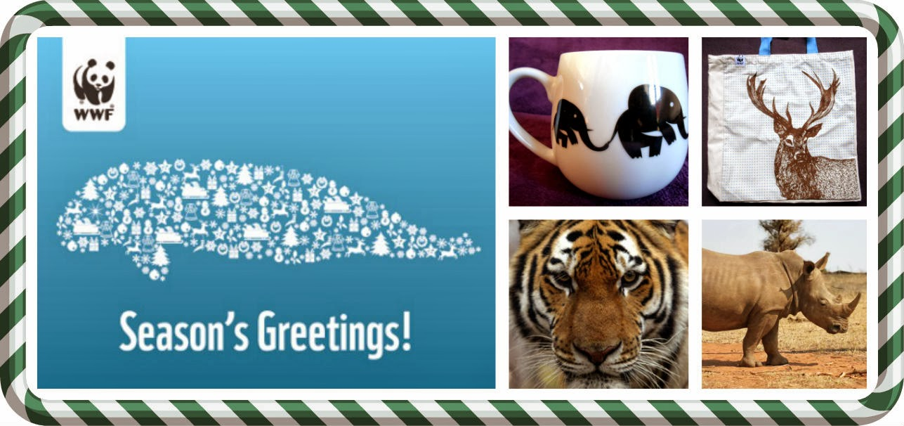 WWF Seasons Greetings Tiger Rhinoceros