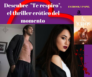 "¡""TE RESPIRO"" YA DISPONIBLE EN EBOOK Y PAPEL!"