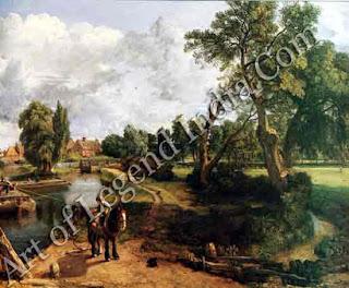 """""""Flatford Mill"""" 1817 40"""" x 50"""" Tate Gallery"""