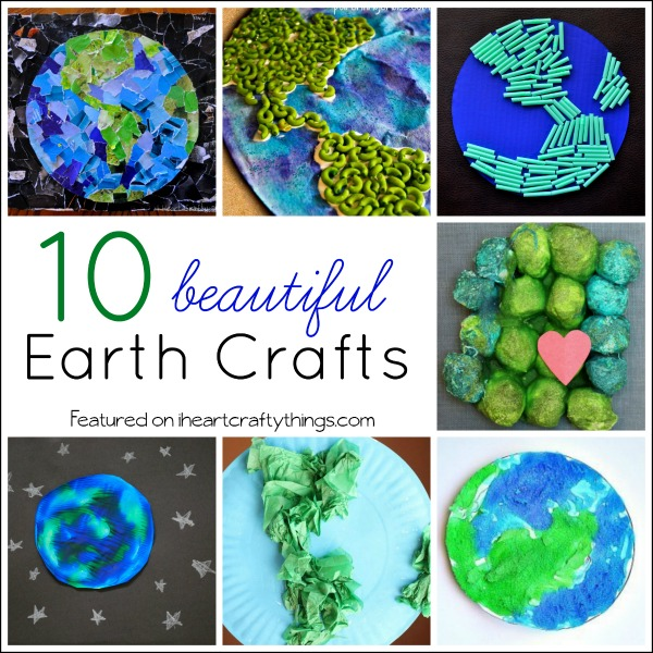 i heart crafty things 10 beautiful earth crafts for kids