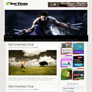 Canvas HTML5 template blog. convert wordpress theme to blogger template. template blog from wordpress theme. template blog content slider. magazine style blogger template