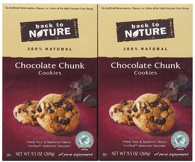 Eating Fabulously, Back to Nature Chocolate Chunk Cookies, Christopher Stewart