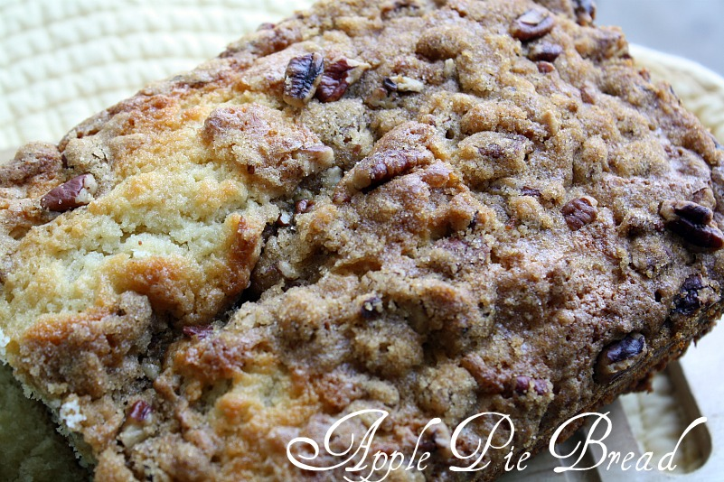 ... From my Texas Kitchen: Apple Pie Bread {Smells a bit like Fall