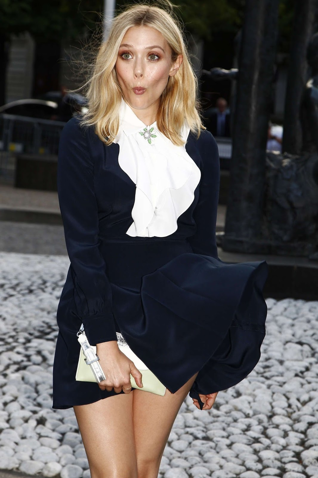 Elizabeth Olsen – Miu Miu Fragrance and Croisiere 2016 Collection Launch in Paris