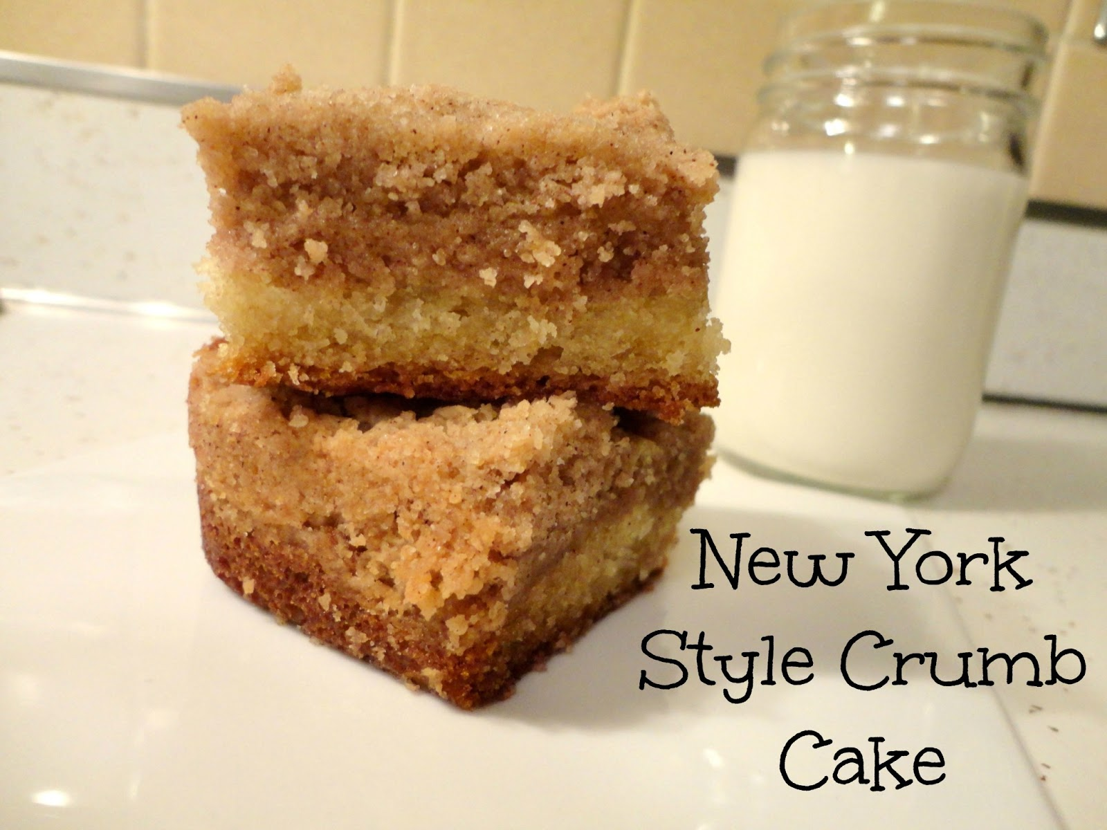 New York-Style Crumb Cake Recipe — Dishmaps