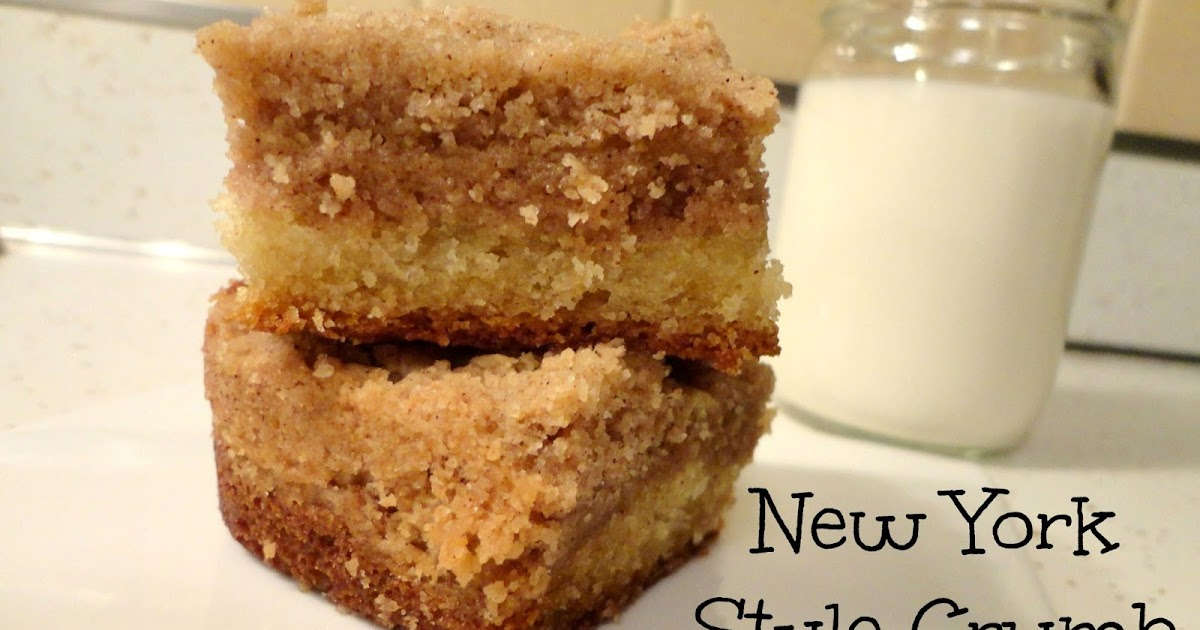 Rosie Discovers: New York-Style Crumb Cake