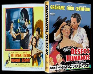 Deseos humanos (1954) | Human Desire | Caratula