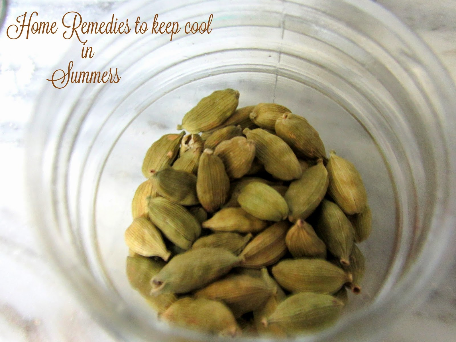 Home remedies for summer, how to keep cool , how to keep cool in summers, how to keep body cool, home remedies for summer heat, home mange water for summers, home made water to keep cool, cool water, cool water for summers, flavoured water, flavoured water for summers, infused water, infusers water for summers, home remedies for heat, hot weather remedies, water to best the heat, home remedies to best the heat, how to make infused water , how to make infused water at home, infused water, cardamom , cardamom water, cardamom uses, cardamom water uses, how to use cardamom, advantages of cardamom,
