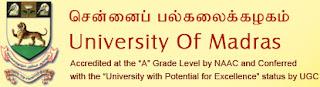 University of Madras -UOM
